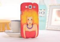 3D красный чехол для Samsung Galaxy S3 + пленка в подарок
