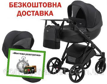 Детская коляска 2 в 1 Bair Next Soft 02 черный