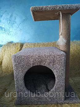 Когтеточка-домик для кота