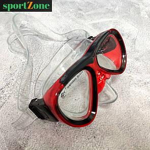 Дитяча плавальна маска Dolvor M226JR червоний