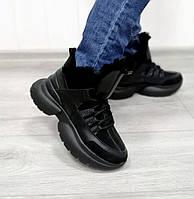 Жіночі зимові кросівки на платформі