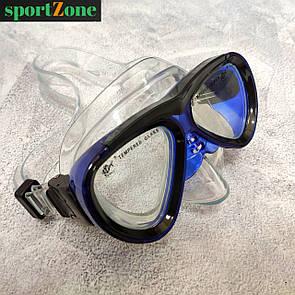 Дитяча маска для пірнання , плавання Dolvor M226JR синій