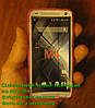 HTC_One_Mini_M4, розовый силиконовый чехол