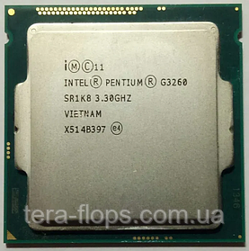 Процессор Intel Pentium G3260 LGA 1150 (BX80646G3260) Б/У