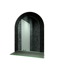 Зеркало для ванной комнаты 550х750 Ф33