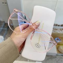 Очки для работы за компьютером с чехлом, розовые