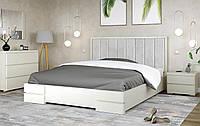 Кровать деревянная двуспальная Милана с подъемным механизмом