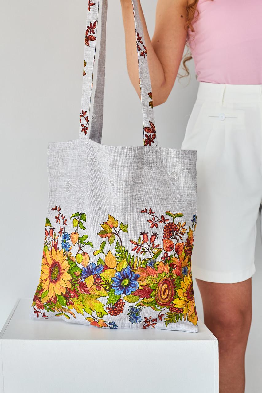 Эко сумка для покупок Подсолнух