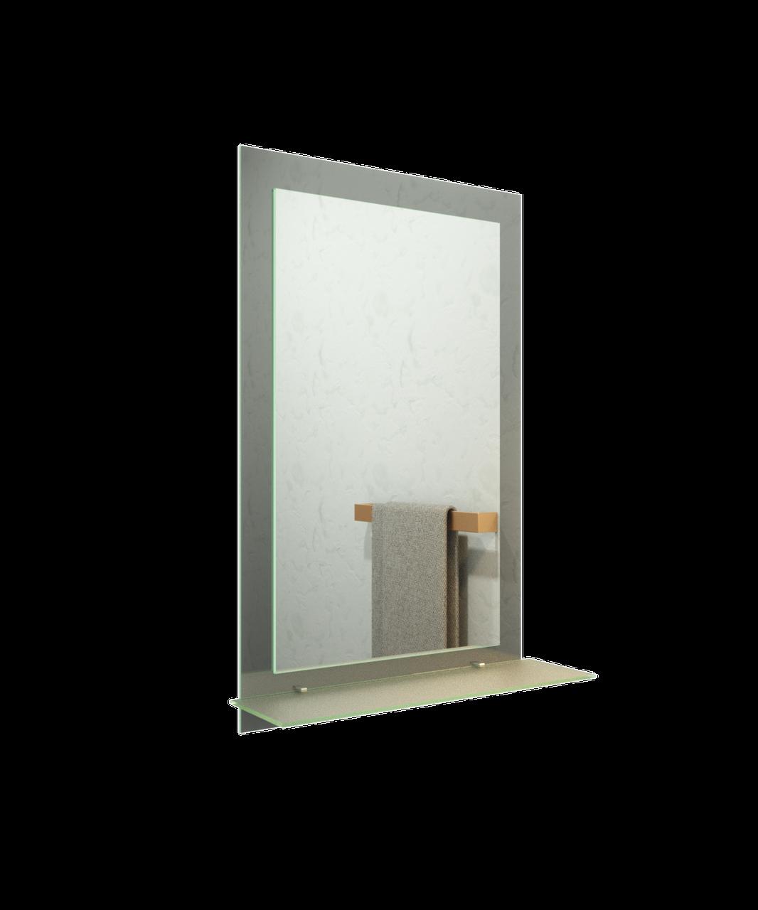Зеркало для ванной комнаты 600х800 Ф66