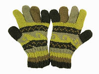 Перчатки +из шерсти вязка ручная в ассортименте