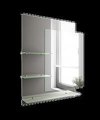 Зеркало для ванной комнаты 650х800 Ф515