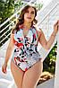 Жіночий купальник великих розмірів, фото 2