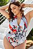 Жіночий купальник великих розмірів, фото 4