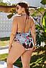 Жіночий купальник великих розмірів, фото 3