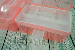 Органайзер для рукоділля (шиття і вишивки), колір - рожевий