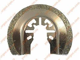 Насадка на реноватор wintech 65мм (півколо/скло-кераміка) (Diamond Coated).