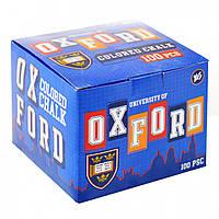 Крейда кольорова квадратна 100 шт Oxford Yes