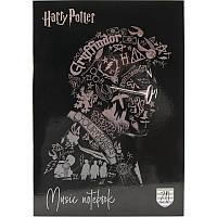 Зошит для нот А4 20арк Harry Potter-2 Kite