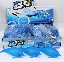 ОПТ!! Антистресс игрушка Дельфин с орбиз  24 шт в уп.