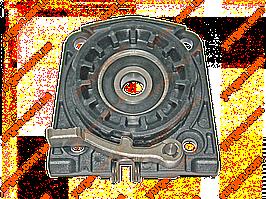 Крышка корпуса редуктора (фланец) для болгарки Metabo W8-125 (код 316041720).