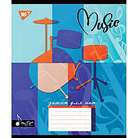 Зошит для нот А5 12арк Music Art асорті Yes