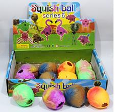 ОПТ!! Силіконова Іграшка - Антистрес, Різні кольори Яйце 12 шт в уп.