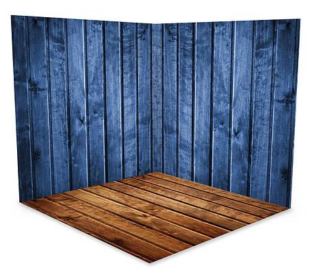 Вініловий 3D фотофон дві стіни та підлогу № W049, фото 2