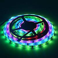 Светодиодная лента MOTOKO чип Epistar 5050 RGB 60 LED/m 14,4W/m в силиконе