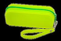 Пенал силіконовий МОНОХРОМ, 18х7х5 см, жовтий Zibi