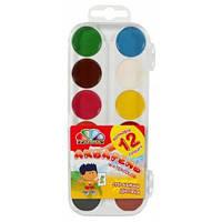Фарби акварельні 12 кольорів 3ахоплення, Гамма-Н (32)