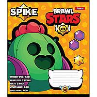 Зошит 12 клітинка BRAWL STARS 1Вересня (25/500)
