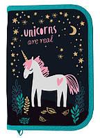 Пенал 1-яр з 2-ма відворотами Unicorn, Class