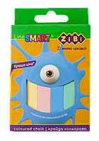 Крейда 12 кольорів квадратна, картонна коробка, SMART Line Zibi (56)