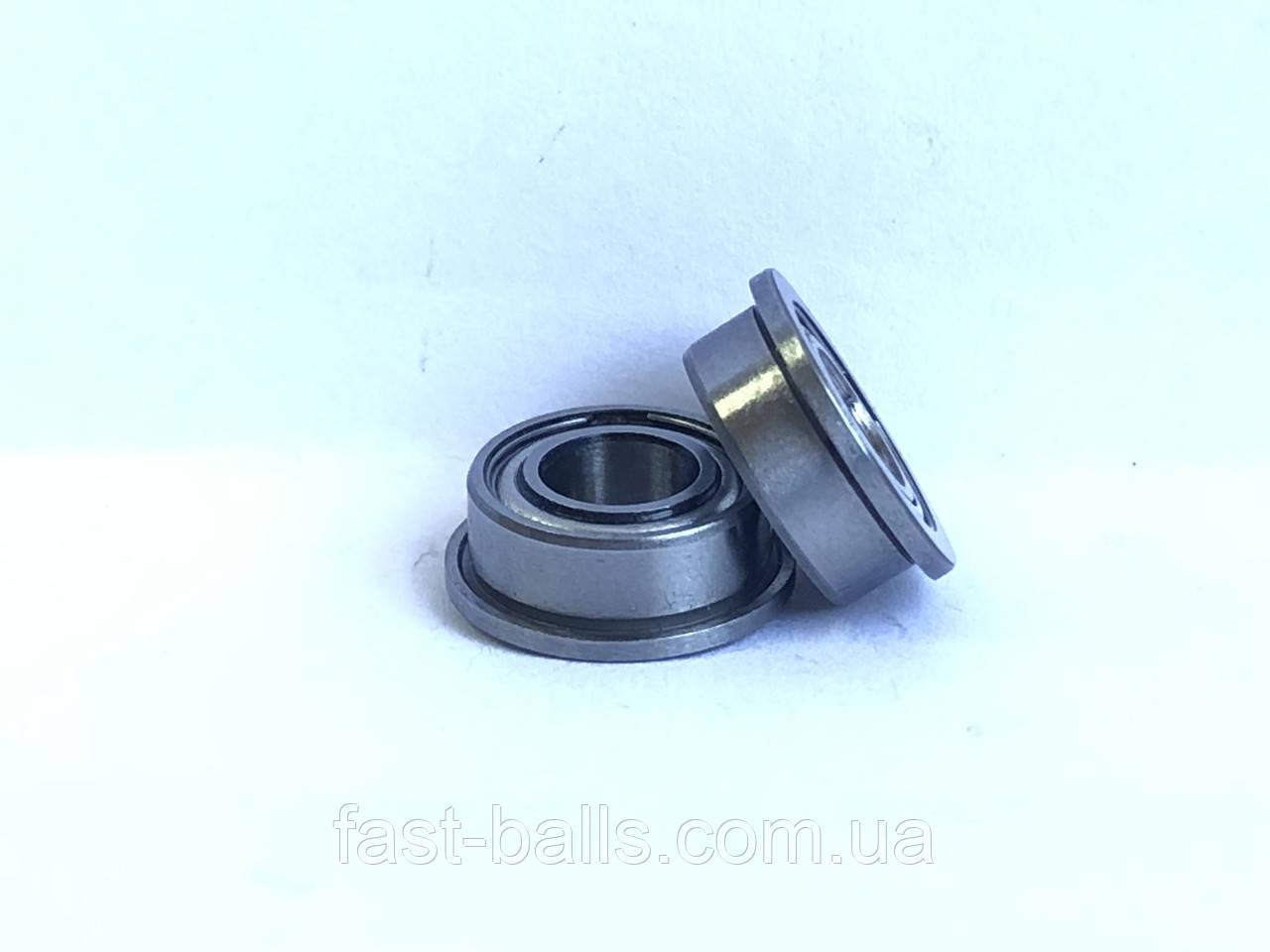 Підшипник SMB MF105 2Z (5x10x4) однорядний c фланцем