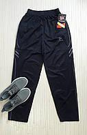 Спортивные штаны мужские прямые, ластик (дайвинг), темно-синий