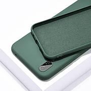 Силіконовий чохол SLIM на Xiaomi Redmi Note PRO 10 Pine Green