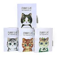 Блокнот в коробці на замку А6 64арк Funny cat