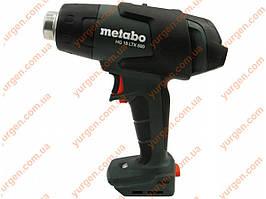 Фен аккумуляторный Metabo HG 18 LTX 500