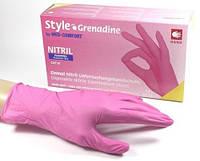 Нитриловые Перчатки медицинские неопудренные, STYLE AMPRI Grenadine XS. 50 пар\100 шт.