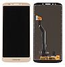 Дисплей (экран) для Motorola XT1922 Moto G6 Play + тачскрин, золотистый, 151 x 70 mm