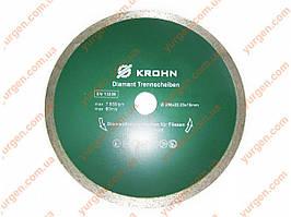 Алмазный диск отрезной KROHN Ø 200 мм х 22,23 мм по плитке.