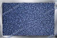 Коврик грязезащитный Узор, 60х90см., синий