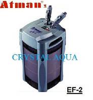 Внешний фильтр для аквариума Atman EF-2, фото 1