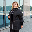 Куртки батал жіночі весна-осінь великі розміри 48-62 фісташковий, фото 7