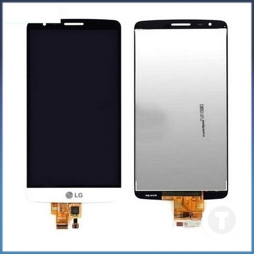 Дисплей (экран) для LG D690 G3 Stylus с сенсором/ тачскрином (Модуль) белый оригинал