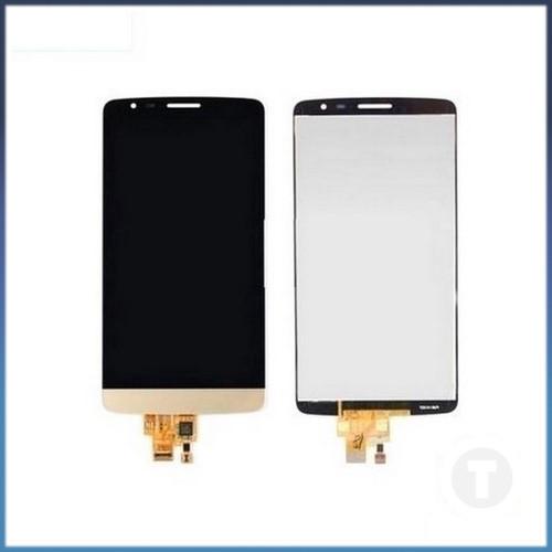 Дисплей (екран) для LG D690 G3 Stylus з сенсором / тачскріном (Модуль) золотий оригінал