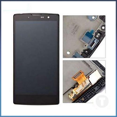 Дисплей (экран) для LG H500 Magna Y90/ H502/ H522Y G4c/ H525N/ H525Y с сенсором/ тачскрином (Модуль) черный