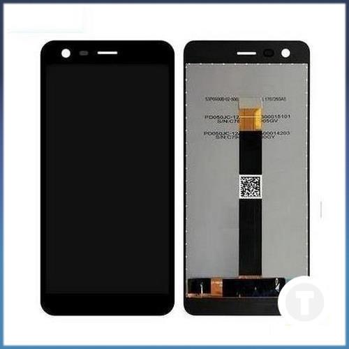 Дисплей (экран) для Nokia 2 TA-1007/ Dual Sim TA-1029 с сенсором/ тачскрином (Модуль) черный оригинал
