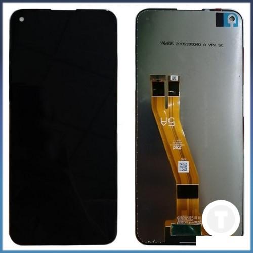 Дисплей (екран) для Nokia 3.4/ 5.4 з сенсором / тачскріном (Модуль) чорний