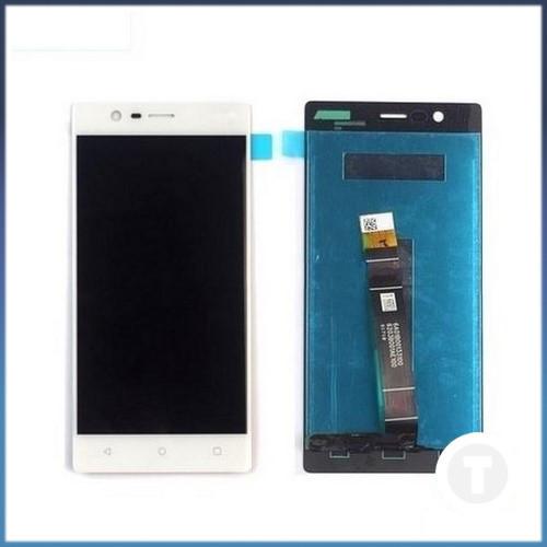Дисплей (екран) для Nokia 3 Dual Sim (TA-1032) з сенсором / тачскріном (Модуль) білий